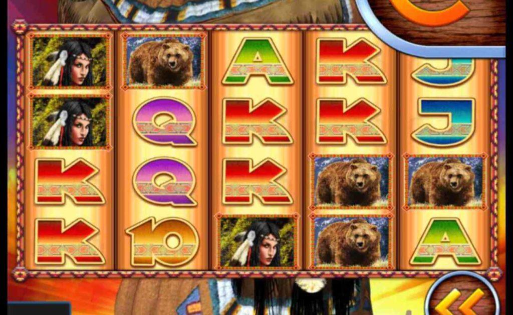 Golden Chief online slot casino game reels