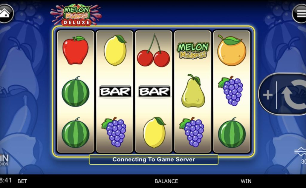 Melon Madness Deluxe online slot casino game reels