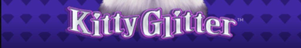 Kitty Glitter online slot casino game logo