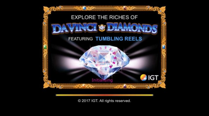 Da Vinci Diamonds online slot casino game
