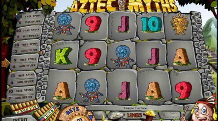 Aztec Myths online casino slot game