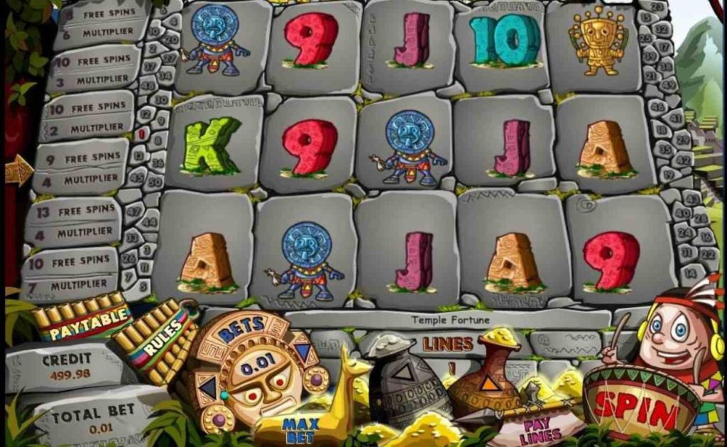Aztec Myths online casino slot game