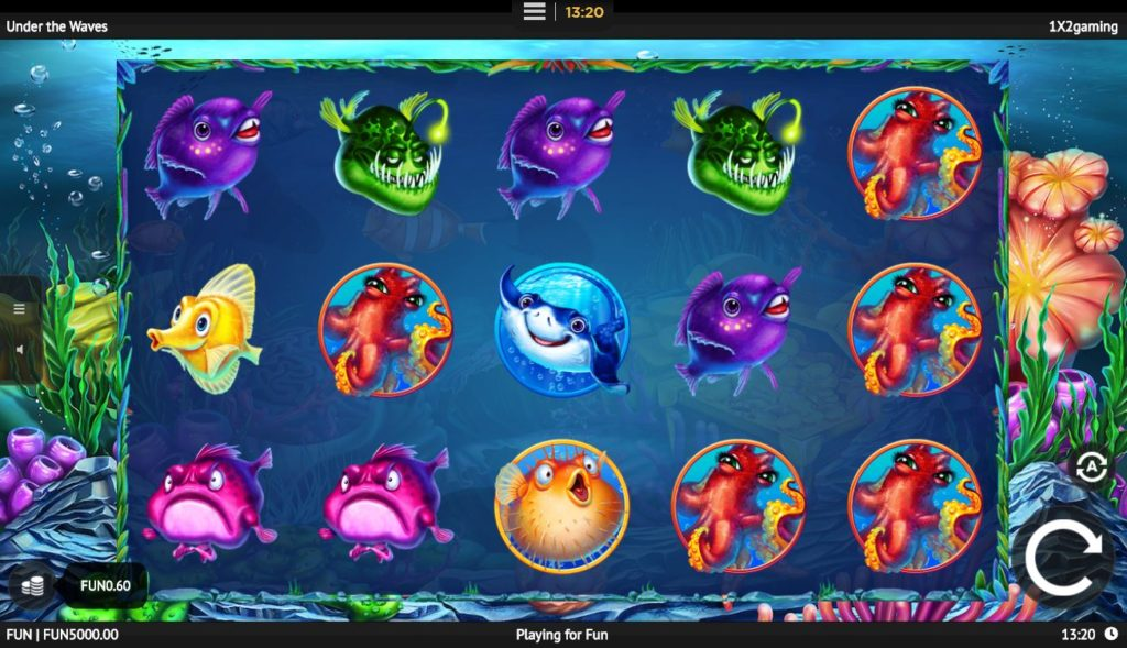 Under The Waves online casino slot game