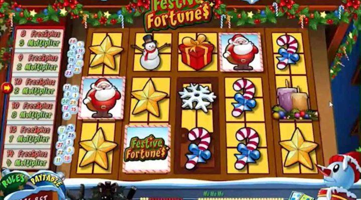 Festive Fortunes online slot casino game