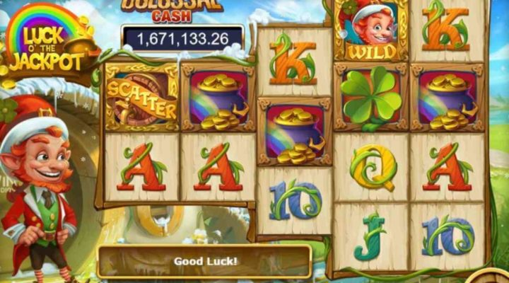 Luck O' the Jackpot online slot casino game