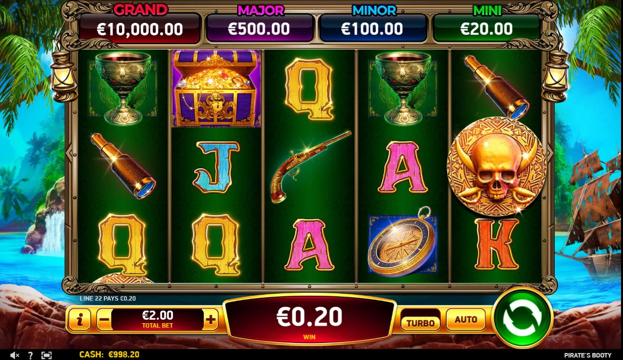 Pirate's Booty online slot casino game