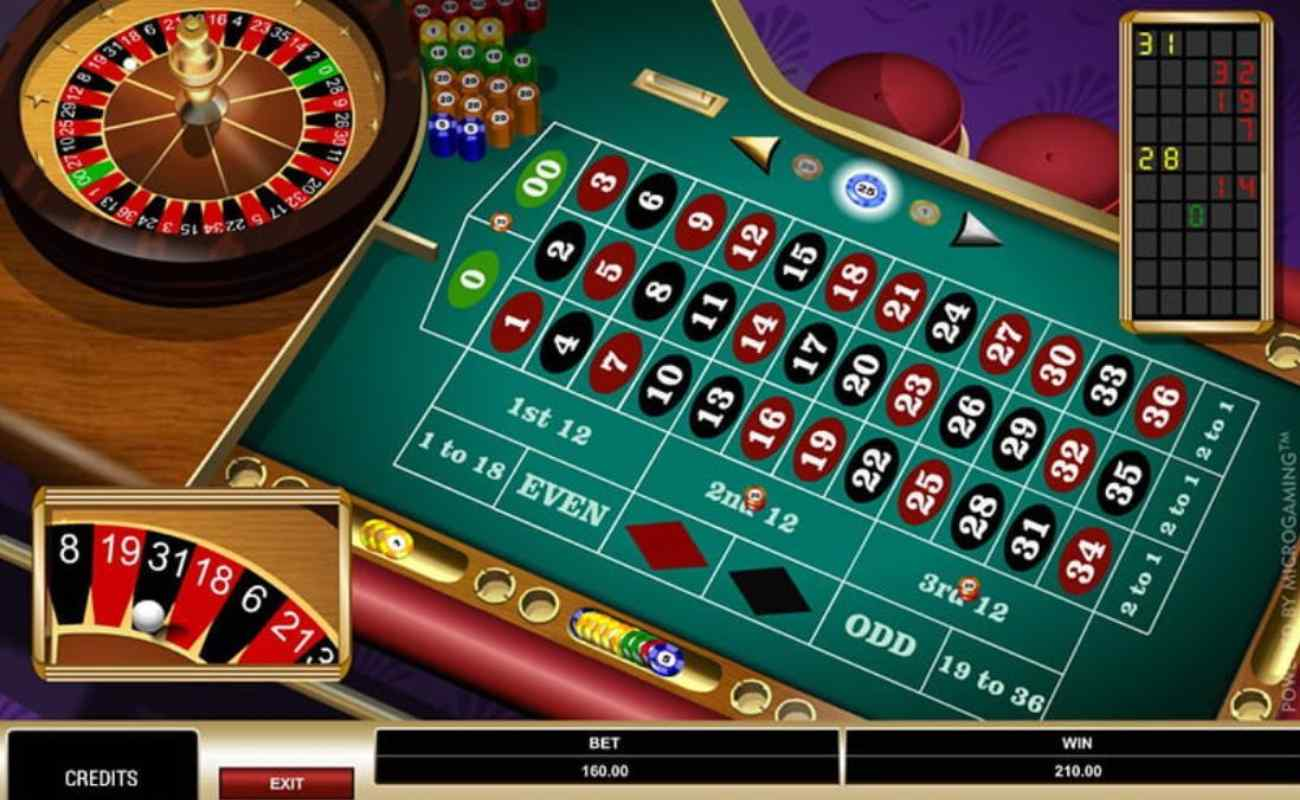 American Roulette online casino game