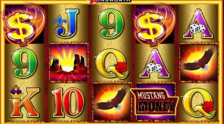 Mustang Money online slot casino game by Ainsworth