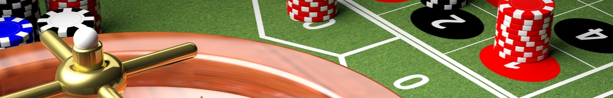 A digital rendering of a roulette table.