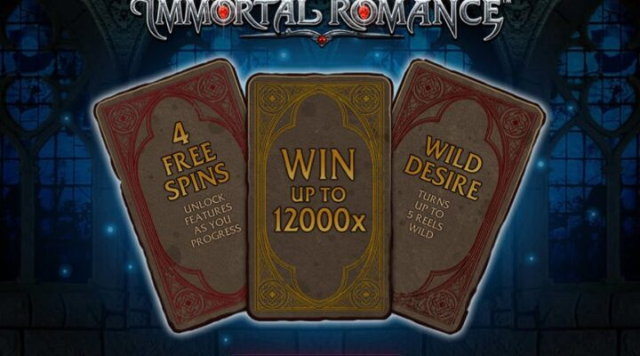 Immortal Romance online slot casino game