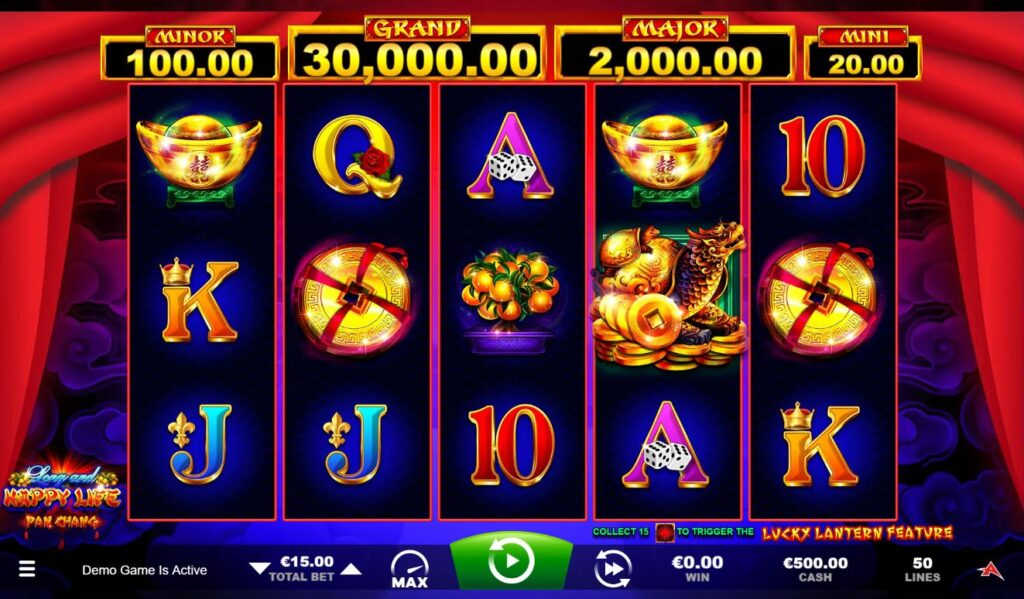 Long and Happy Life online slot casino game.