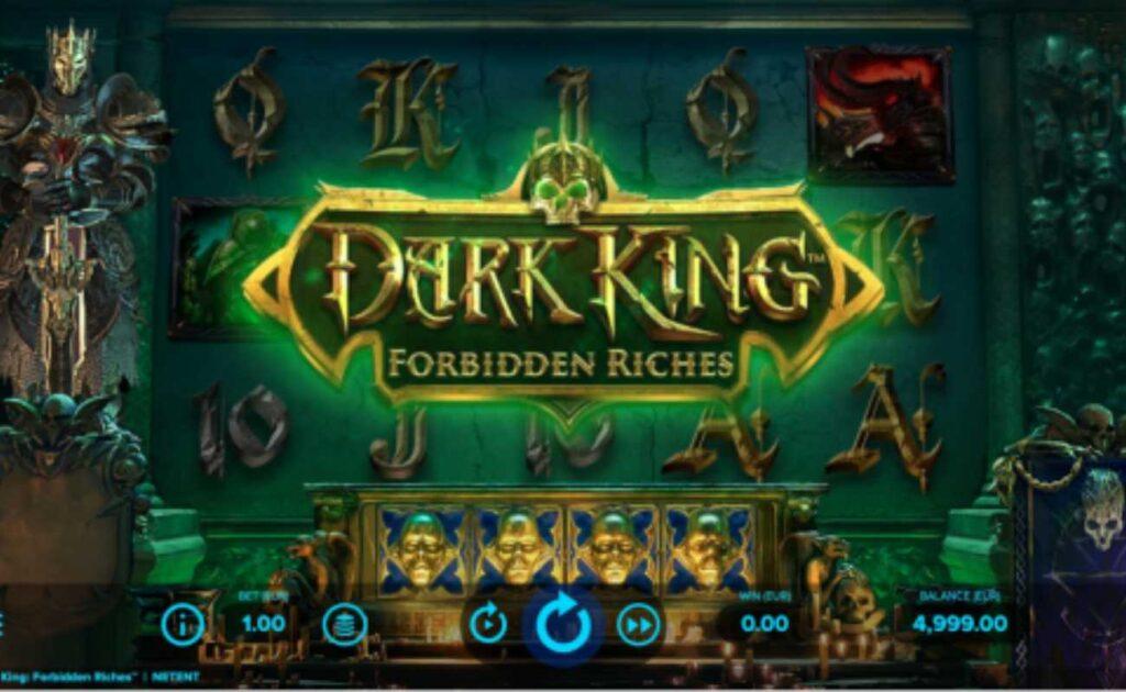 Dark King: Forbidden Riches, an online slot game by NetEnt.