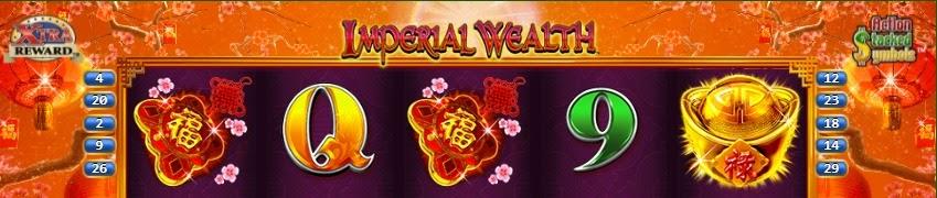 Imperial Wealth online slot by Konami.