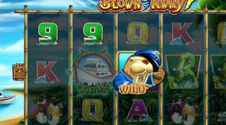 Blown Away Online Slot by Lightning Box
