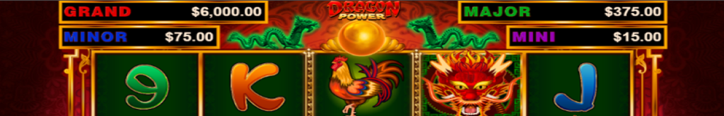 Header image for Dragon Power, an online slot by Wild Streak Gaming.