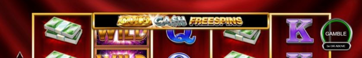 Gold Cash Freespins online casino slot game
