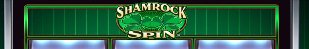 Shamrock Spin online slot casino game by Everi.