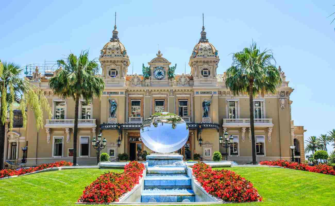 Monte-Carlo Casino day view.