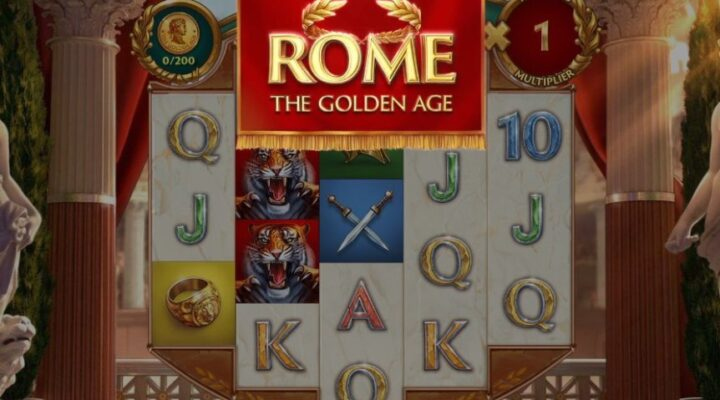 Rome: The Golden Age, an online slot by NetEnt.