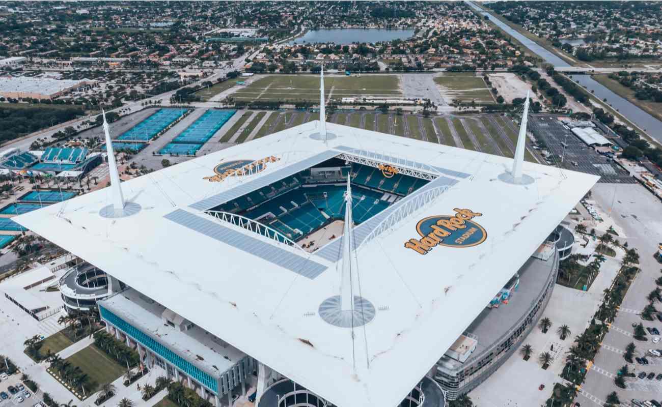 Miami Dolphins' Hard Rock Stadium