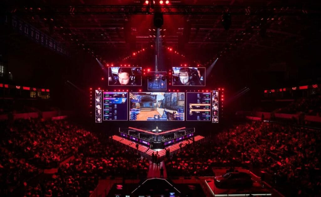 Esports Counter-Strike Global Offensive event in Moscow 2019
