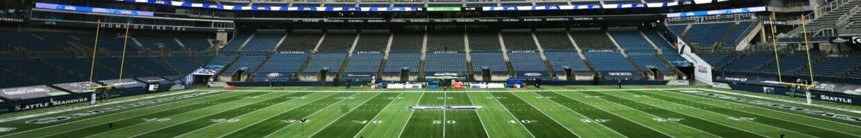 A general view of CenturyLink Field before a game between the Seattle Seahawks and Minnesota Vikings in Seattle, Washington. Photo by Abbie Parr/Getty Images.