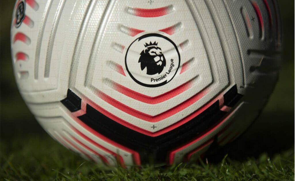 The Official Nike Premier League match ball for the 2020/21 soccer season. (Photo by Visionhaus/Getty Images)