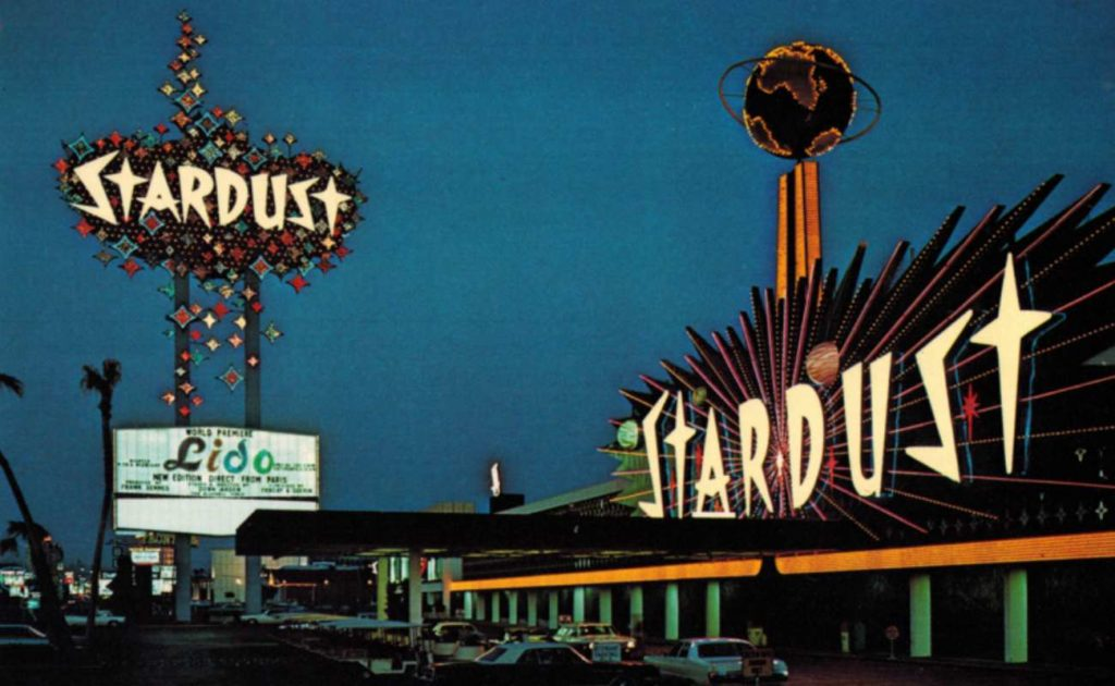 photograph of Stardust Hotel in Las Vegas taken in the 1970s