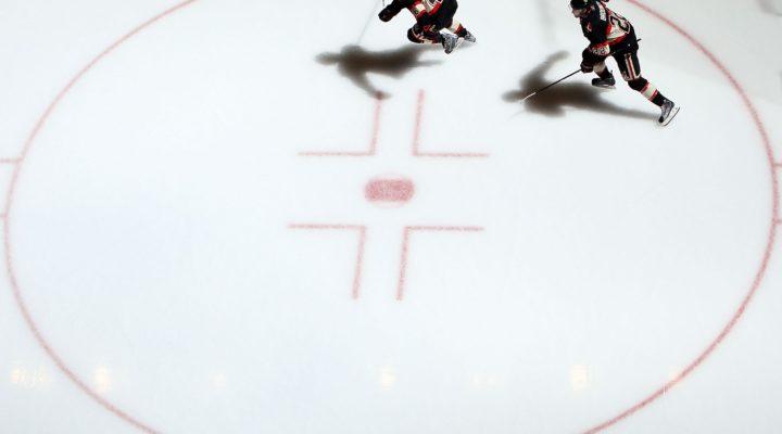 hockey players on ice