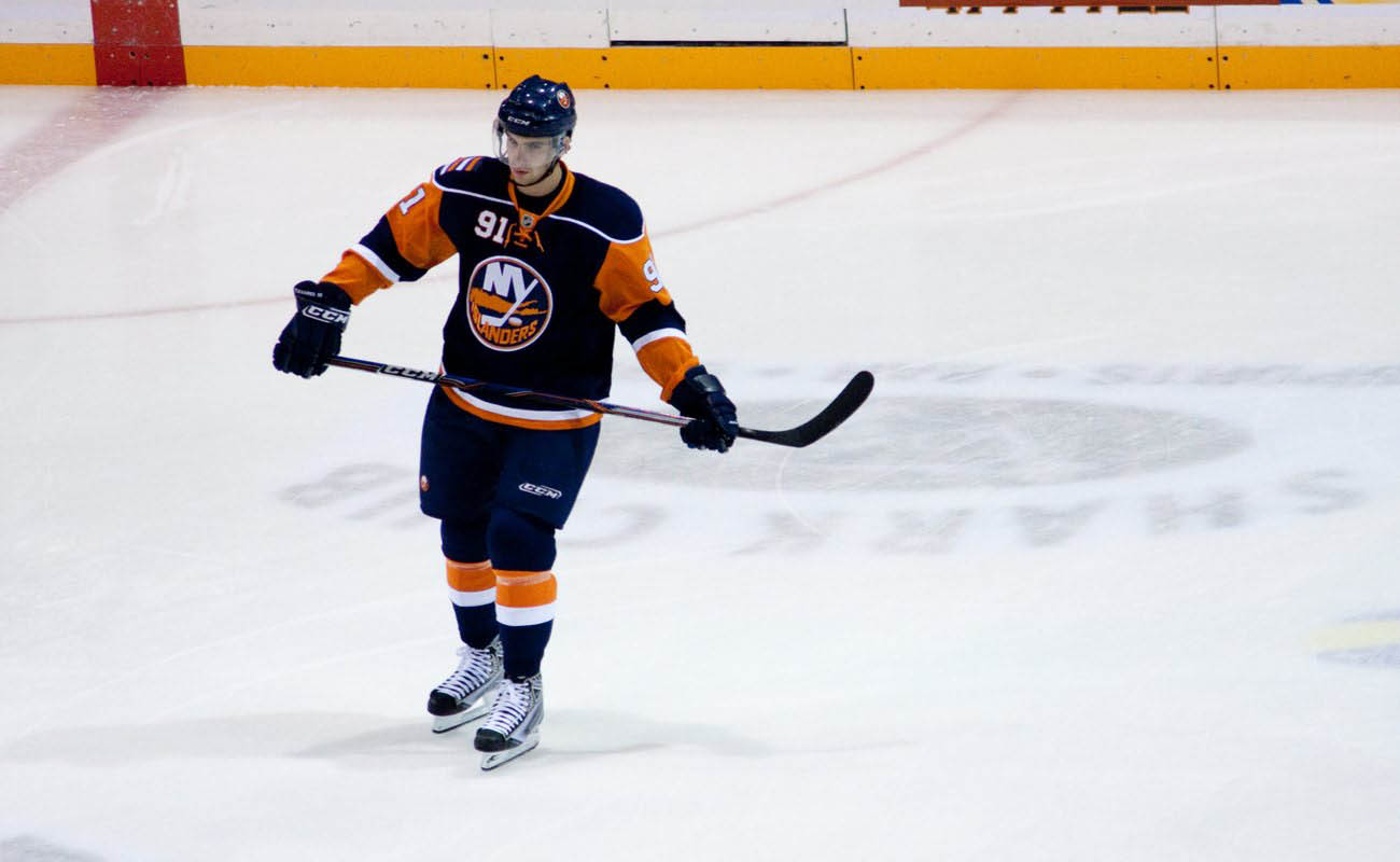 NHL's John Tavares during a game
