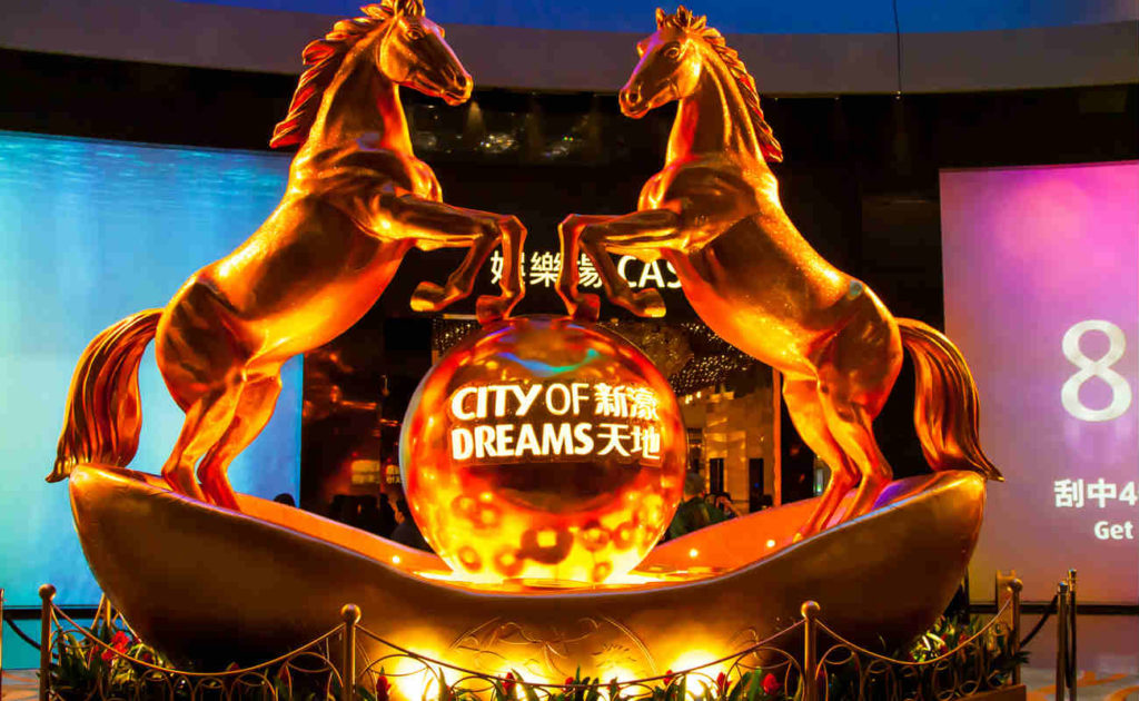 City of dreams Casino in Macau, China