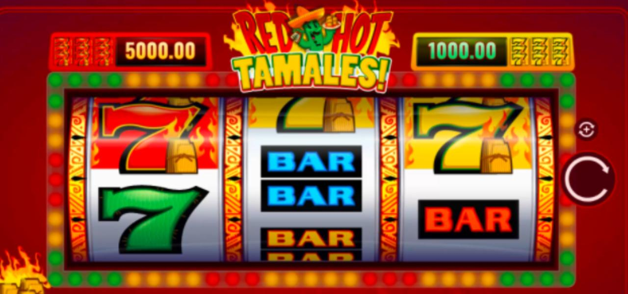 screenshot of Red Hot Tamales online slots game by IGT