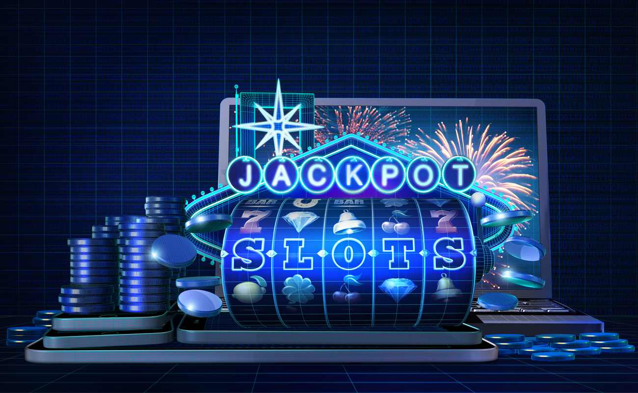 Gambling concept image for slots games with progressive jackpots feature