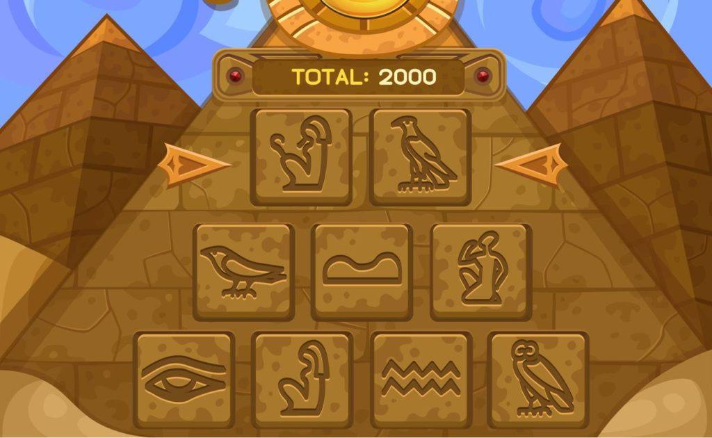 Vector illustration of Bonus Game