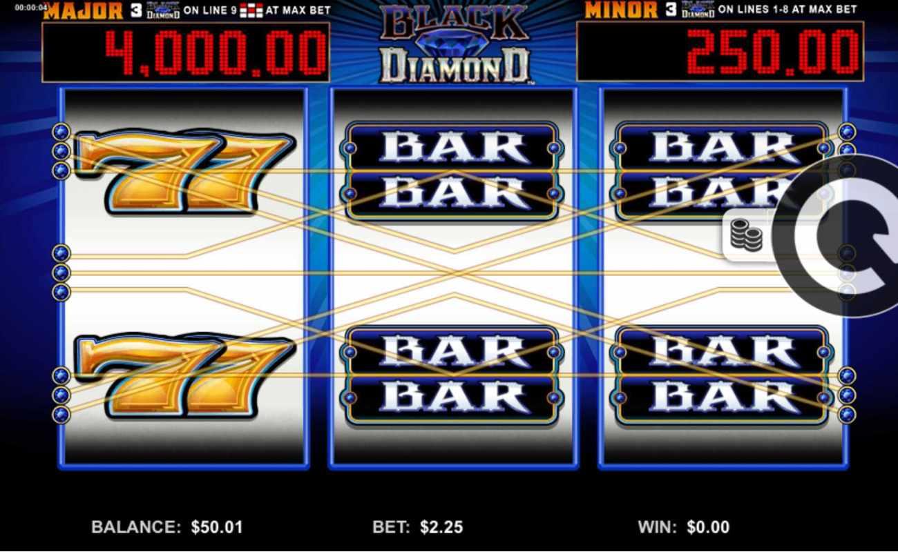 Black Diamond online slot game