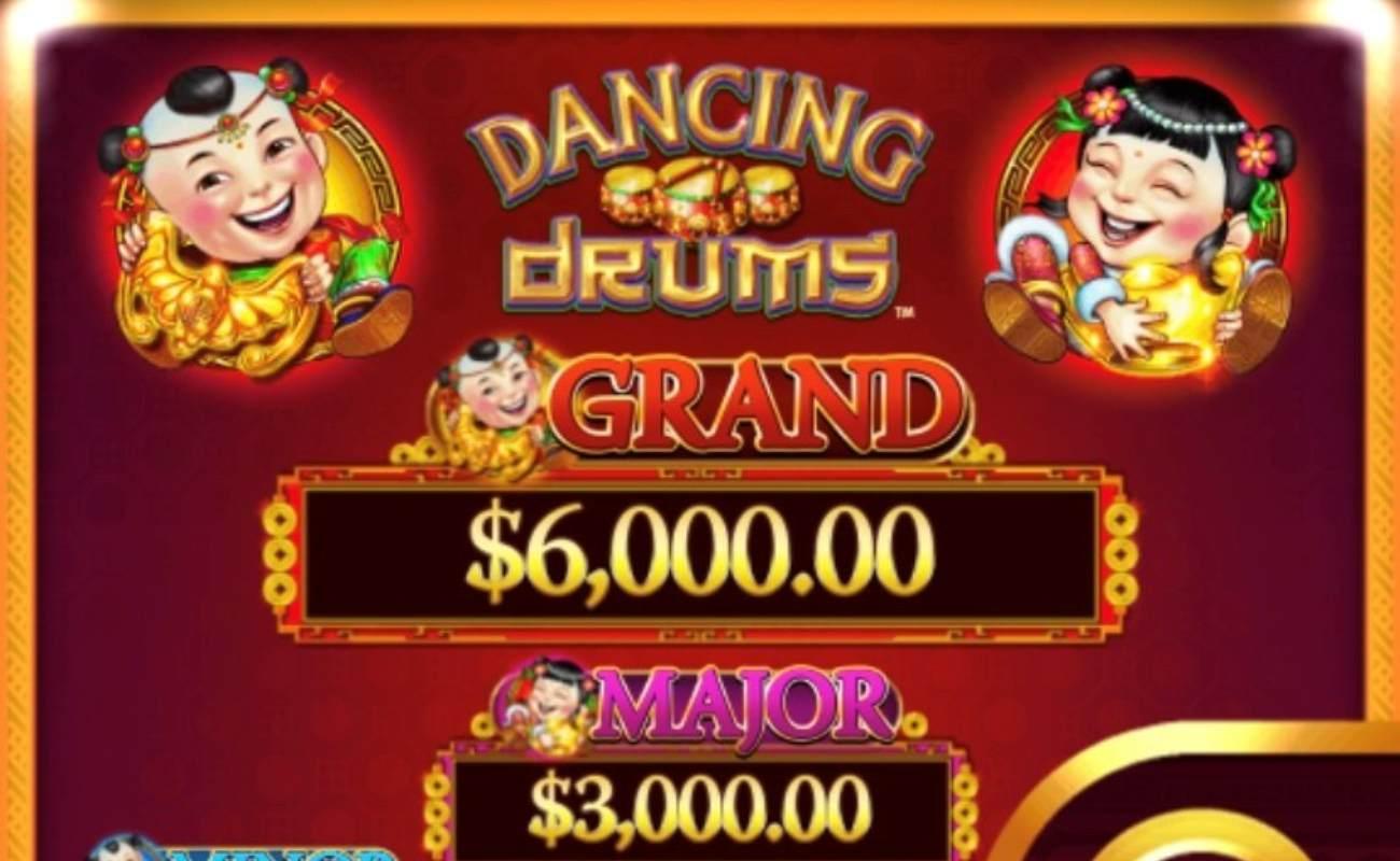 Dancing Drums online slot casino game