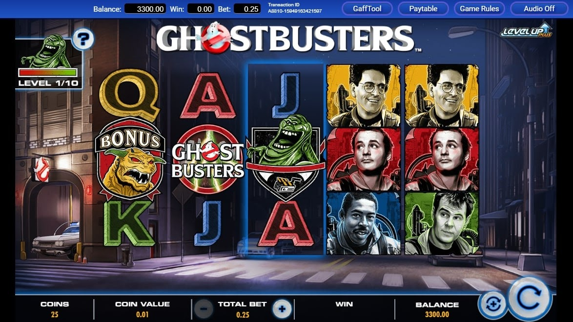 Online casino slots game Ghostbusters Plus by IGT
