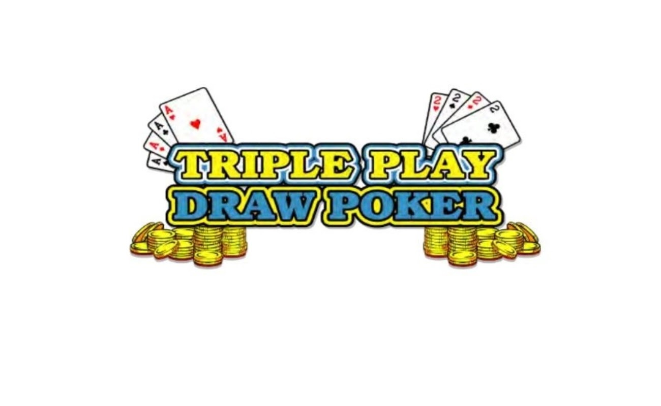 Triple Play Draw Poker online casino game