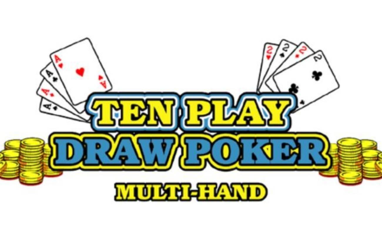 Ten Play Draw Poker online casino game