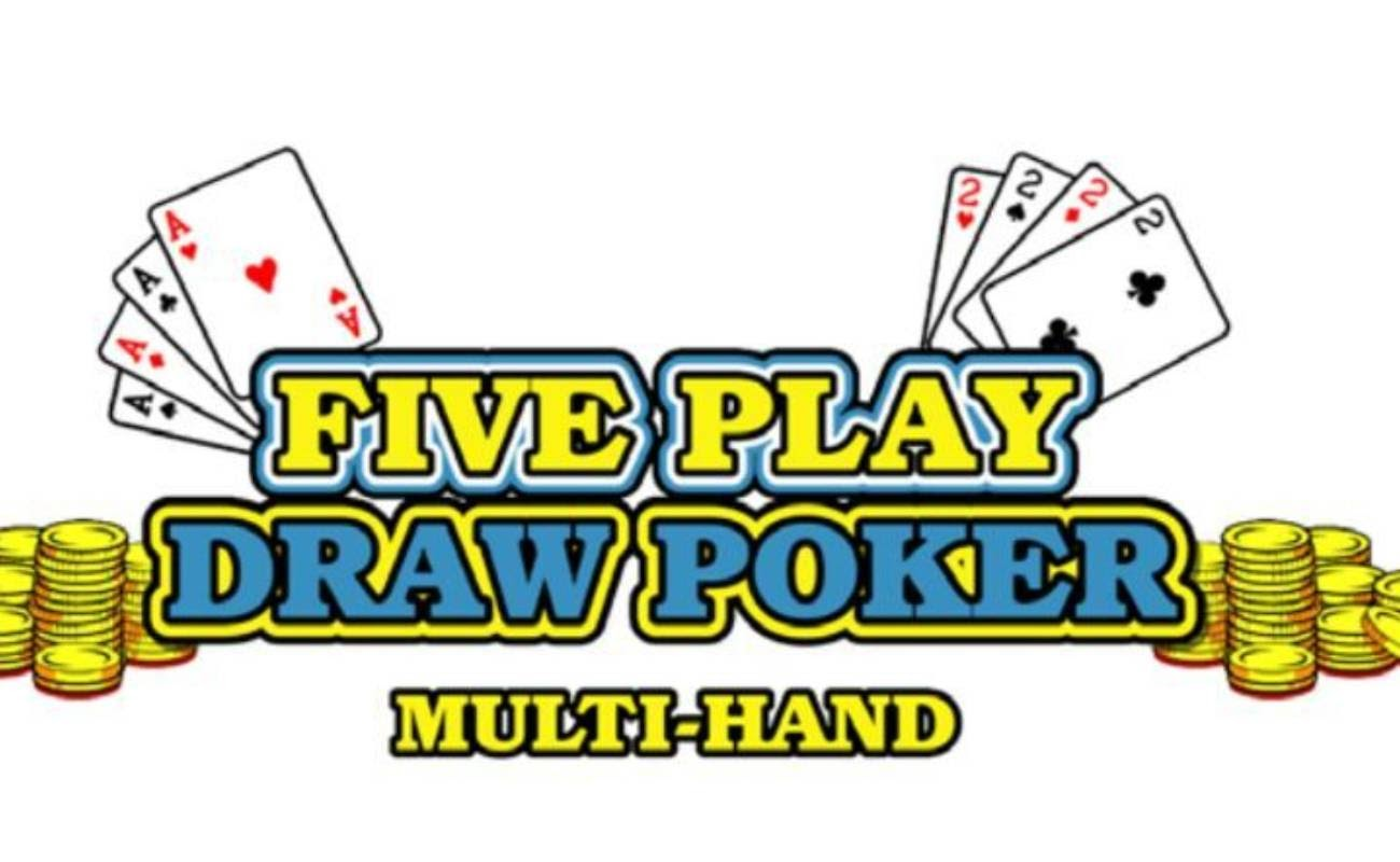 Five Play Draw Poker online casino game