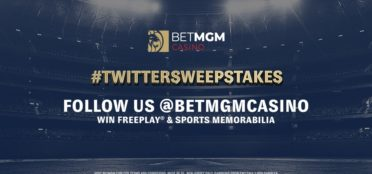 BetMGM Casino Twitter Sweepstake competition logo