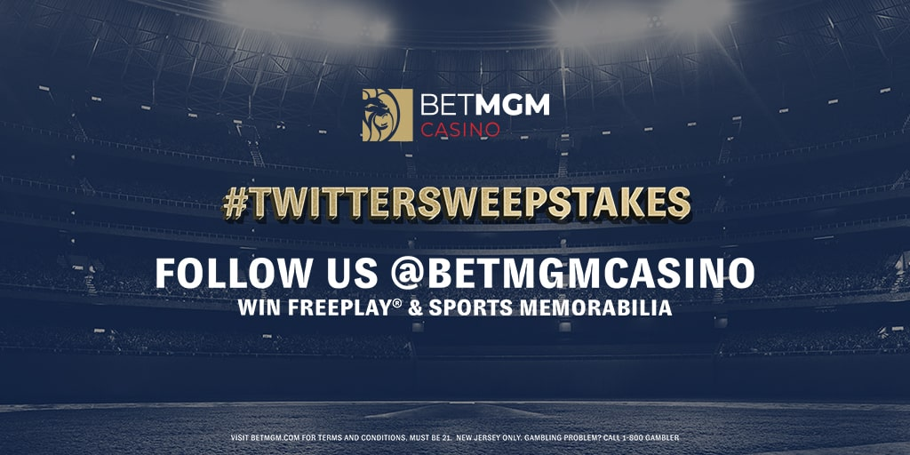 BetMGM Casino Twitter Sweepstake competition logo