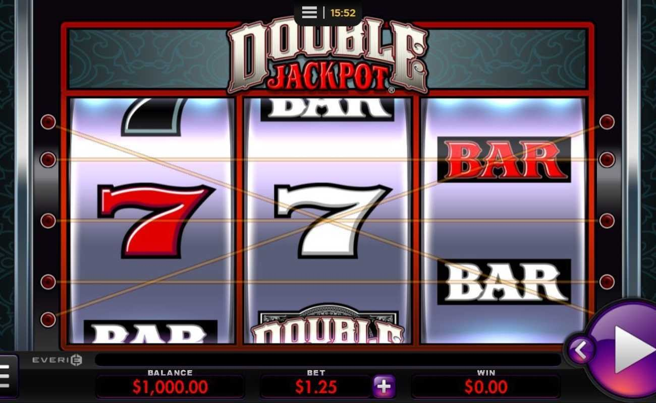 Double Jackpot by Everi online slot casino game
