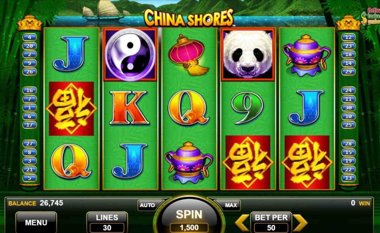 China Shores by Konami online slot casino game