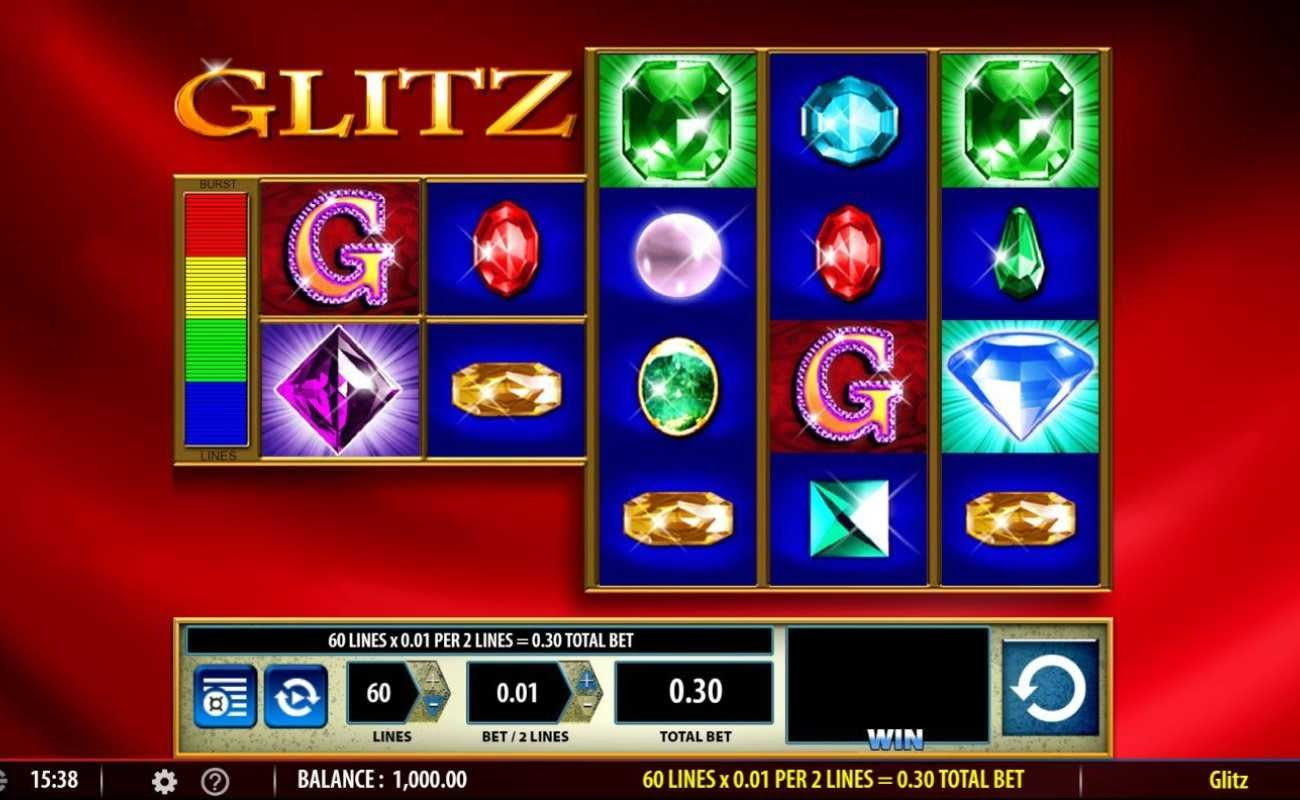 Glitz by NYX online slot casino game