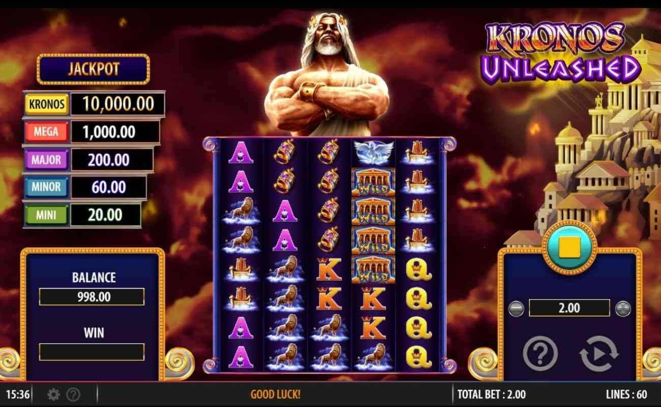 Kronos Unleashed by SG Gaming online slot casino game