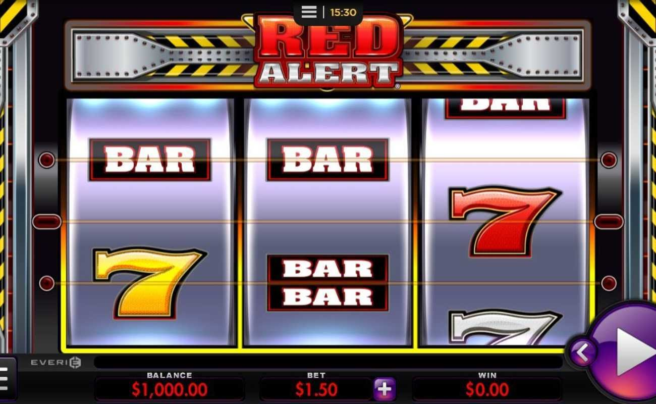 Red Alert by Everi online slot casino game