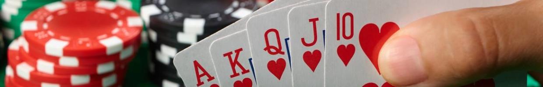 Winning poker hand royal flush