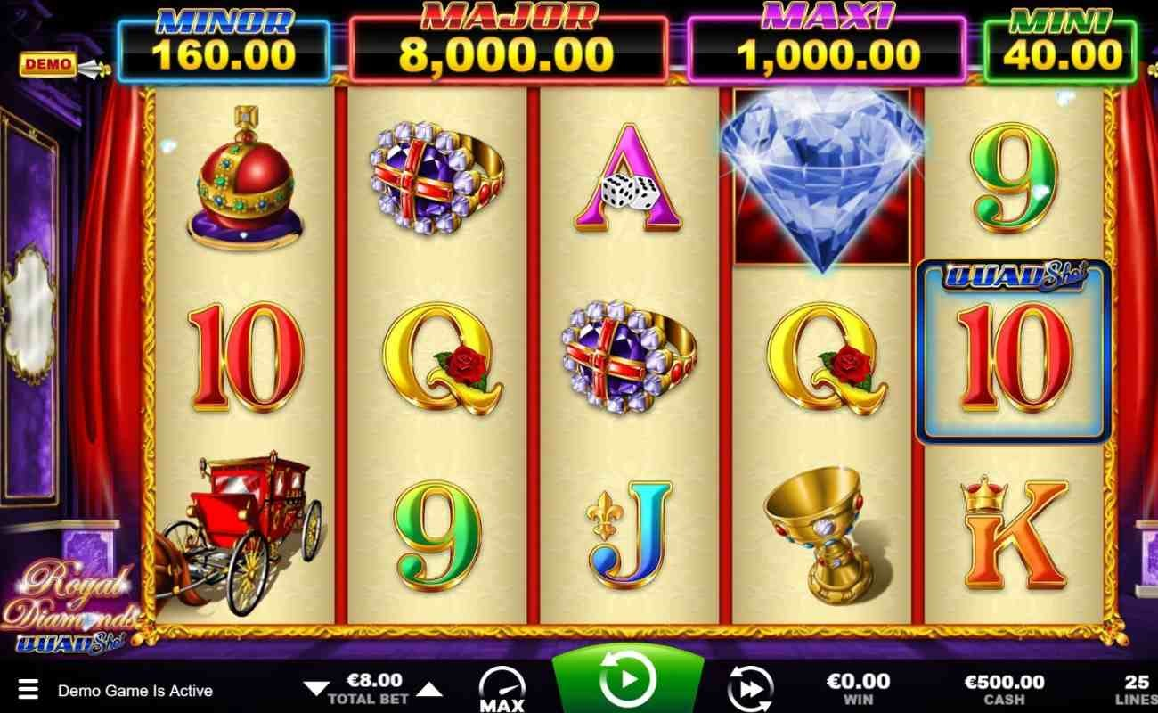 Royal Diamonds by Ainsworth online slot casino game