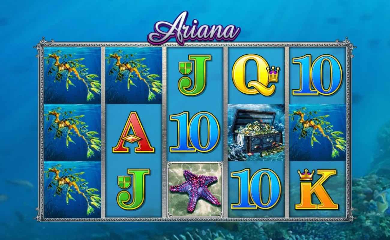 Ariana by Microgaming online slot casino game